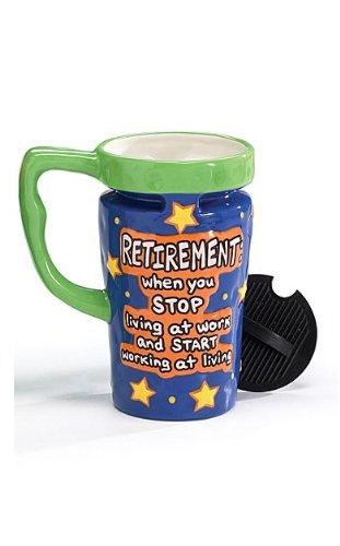 Retirement Travel Mug (13oz) with Lid