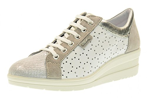 Chaussures 00 Baskets Soft 79582 Avec Enval Argent Femme Coin U1agaq