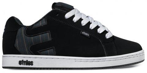 Etnies Mens Fader Skate Shoe Nero / Grezzo
