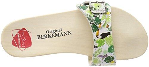 Weiß Sandale Adulte Berkemann Mixte Original 076 Mules Multicolore Tukan YwF5q1