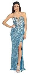 Sweetheart Neckline Sequin Dress