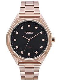 Relógio Feminino Euro Analógico Eu2035Yoo/4P Rose