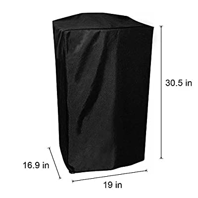 Onlyfire 30 Inch Smoker Cover for Masterbuilt Electric Smoker, Black by onlyfire