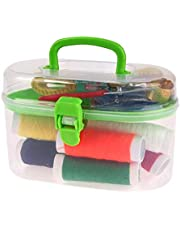 المحمولة البسيطة السفر PP الخياطة مربع إبرة الخيوط مجموعات الخياطة مجموعة DIY أدوات الخياطة المنزلية