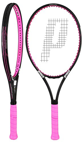Prince Textreme Warrior 107L Pink Tennis Racquet (4-1/8) - Prince Racquets