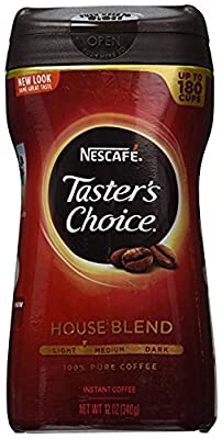 Nescafe Taster's Choice Instant Coffee, 12 Ounce from Nescafé