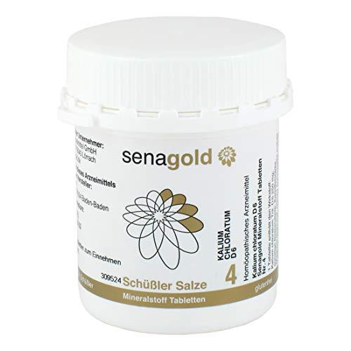 Schüßler Salz Nr.4 - Kalium chloratum D6-400 Tabletten, glutenfrei