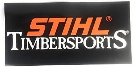 Stihl Aufkleber Timbersports Xxl 50 X 25 Cm 2 Stück Auto