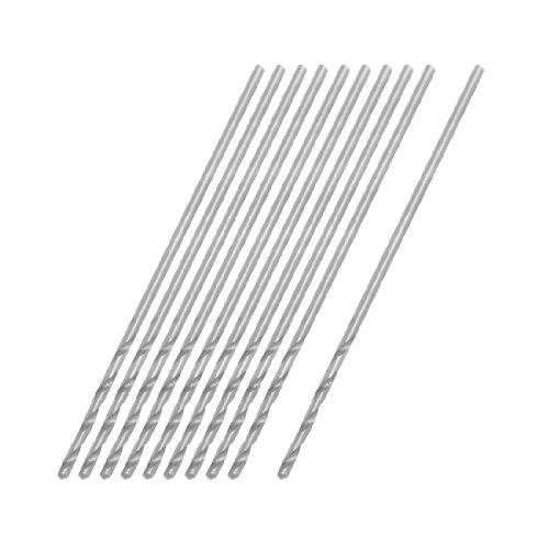 - uxcell 0.75mm Dia Micro HSS Straight Shank Twist Drill Bit 10 Pcs