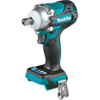 """Makita XWT15Z 18V LXT Lithium-Ion Brushless Cordless 4-Speed 1/2"""" Sq. Drive Impact Wrench w/Detent Anvil, Tool Only"""