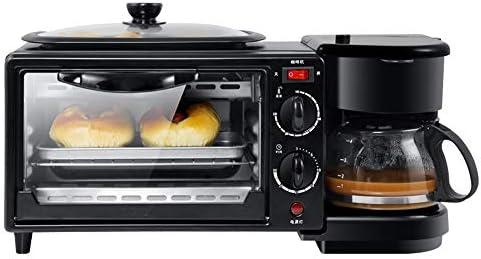 TBBA Máquina Multifuncional De Desayuno para Desayunos Cafetera ...