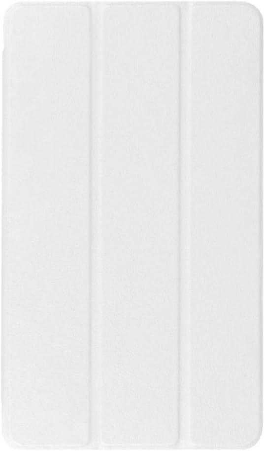 Coque Ultra Mince pour Huawei MediaPad M3 8.4 BTV-W09 BTV-DL09 Tablette de Protection en Cuir PU /à Trois Volets Smart Cover-Marron
