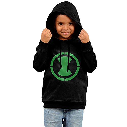 Ben 10 Omnitrix Logo Baby Girl Boy Pullover Hooded Sweatshirt Black