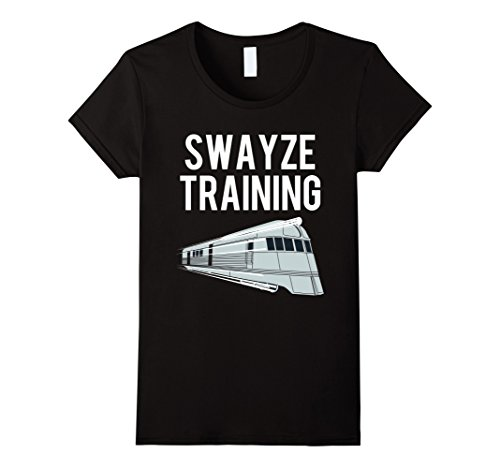 Womens Swayze Training T-Shirt | Swayze Training Shirt Large Black