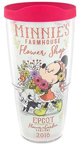 Disney Tervis Tumbler 2018 Epcot Flower And Garden Festival Minnie