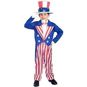 Kid's Uncle Sam Costume (Size: Large 12-14)