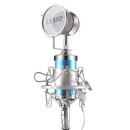 LESHP Microphone Broadcasting Adjustable Performances