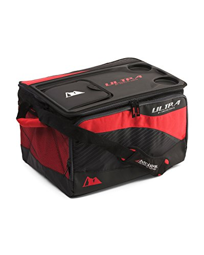 Ice Cold Ultra Cooler 50 Can Arctic Zone Table Top Lid Red Folds Flat California Innovations (Arctic Outdoor Tabletop)