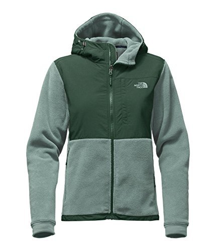 - The North Face Denali Hoodie Women's Balsam Green/Darkest Spruce Large