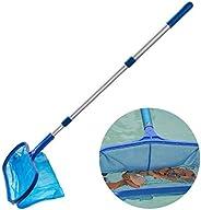 Ferramenta de limpeza de piscina leve de tela para limpeza de piscina com mastro da FunPa