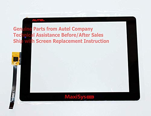 (Touch Screen Panel (V1 Version) for Autel MaxiSys MS906 Scanner with Replacement Instruction)