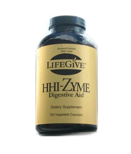 lifegive hhi-zyme enzimas (750 Cápsulas): Amazon.es: Belleza