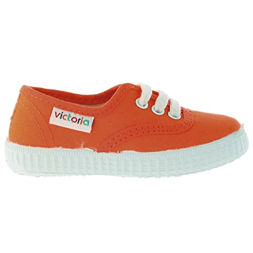 Victoria - Sneaker, Unisex - bambino, Arancione (Naranja), 33
