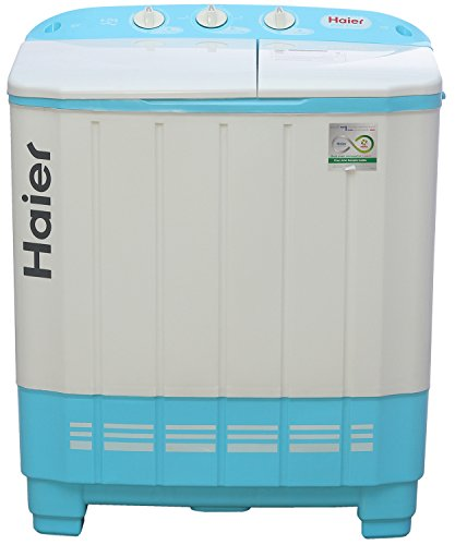 Haier 6.2 kg Semi-Automatic Top Loading Washing Machine (XPB62-0613AQ, Aqua Blue)