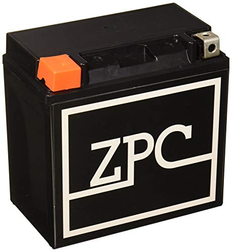 ZPC Battery ZPC-YTX14-BS High Performance Maintenance Free Sealed AGM Motorcycle Battery