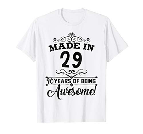happy 1929 it's my 90th years old birthday gift ideas shirt