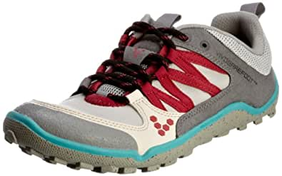 Vivo Barefoot Neo Trail Womens Shoes - Light Grey Turquoise - UK 6