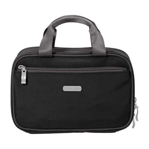 Baggallini Hanging Travel Kit, Black/Charcoal