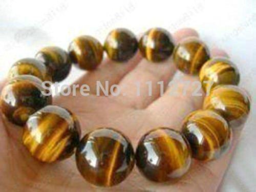 Prime Leader New Fashion Charming Natural Stone 12Mm African Tiger'S Eye Jasper Jewelry Beads Bracelet (Jasper Ruby Bracelet)