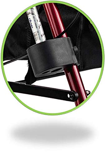 Bodyhealt Cane Holder for Wheelchairs, Rollators, and Crutches - Black by BodyHealt (Image #8)