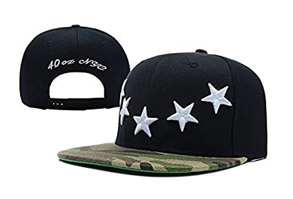 784551e9f85 Image Unavailable. Image not available for. Color  40 OZ NY Stars snapbacks  adjustable hats ...