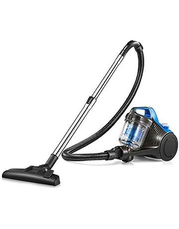 Cylinder Vacuum Cleaner, Kealive 700W Bagless Vacuum Cleaner with 18Kpa High Efficiency Motor (4