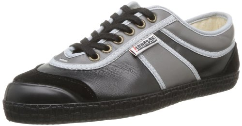 Shot Hot Black Noir H13 Leather Kawasaki 30 Uomo Nero Grey Sneaker 4EnqwSZx