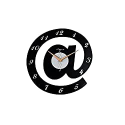 YSRHome Silent Non Ticking Vintage Modern Decorative 16-Inch Fashion Children's Room Cartoon Quartz Clock 16 Inches Wall Clocks for Living Room Bedroom Kitchen Office, Easy to Read