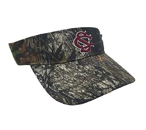 Collegiate Headwear National Cap Camo Visor University of South Carolina - University South Carolina Hats