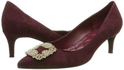 008 53 Con 5 Para Punta Cerrada Tacón Rojo De Mujer Primafila Zapatos qEwSAcxHqZ