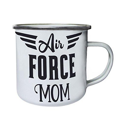 Maman Air Force Rétro, étain, émail tasse 10oz/280ml bb173e