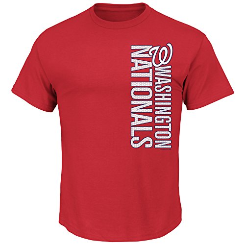MLB Washington Nationals Men's Our Game Tee, Medium, Red