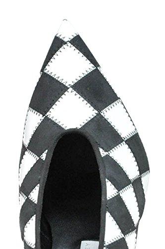 Escarpins Stella Noir MCGLCAT03003E Femme Cuir McCartney Blanc Artificielle xqqv06fwp
