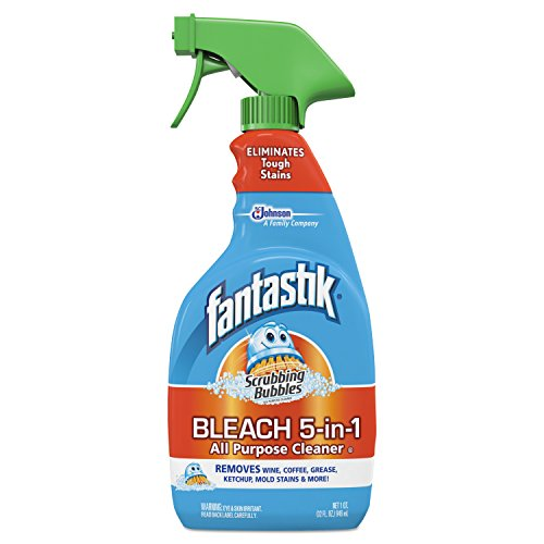 Fantastik All Purpose Cleaner (Fantastik Scrubbing Bubbles All Purpose Spray Cleaner with Bleach (32-Ounce, 8-Pack))