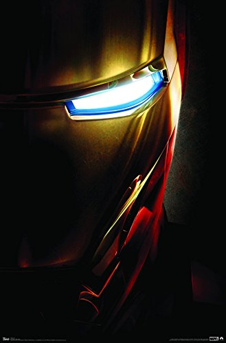 Trends International Wall Poster Iron Man One Sheet, 22.375