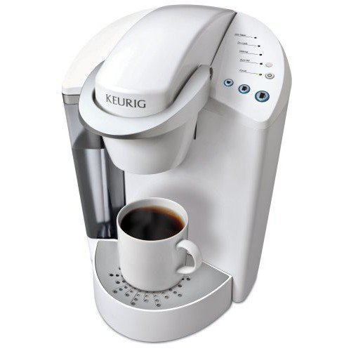 Keurig K45 Elite Coconut White Single Cup Home Brewing System