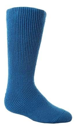 HEAT HOLDERS - Los titulares de calor - Niños de invierno cálido calcetines térmicos en 8 colores y 2 tamaños (26-32 Eur, Azul)