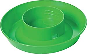 Screw On Poultry Water Base - 1 Quart Color: Green