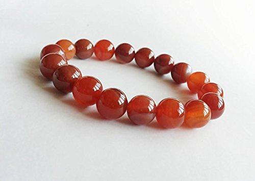- JP_Beads Natural Fire Agate Bracelet, Bracelet for Womens, Wrist Mala Bracelet, Agate Stretch Bracelet, Fire Agate Gemstone Bracelet, Fire Agate Mala 10mm