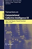 Transactions on Computational Collective Intelligence XX Front Cover